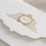 Mesmerising Solid White Pocket - Wedding Invitations - WPSP-01 - 178228