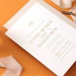 Foil Stamped Elegance - Wedding Invitations - WP300GG - 178134