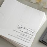 Debossed Monogram and Coloured Letterpress - Wedding Invitations - WPLP03 - 178521