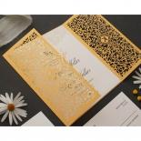Golden Elegance Botanical Gates  - Wedding Invitations - PWI116022-DG-C-7618 - 178306