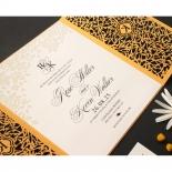Golden Elegance Botanical Gates  - Wedding Invitations - PWI116022-DG-C-7618 - 178305