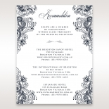 Imperial Glamour without Foil accommodation enclosure stationery card design