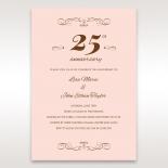 25 Years anniversary invitation
