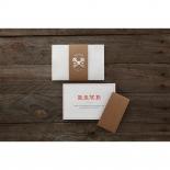 Eternity anniversary invite card design