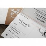 Eternity anniversary invitation design