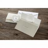 Letters of love anniversary invitation design