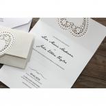 Letters of love anniversary invite