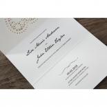 Letters of love anniversary invite design