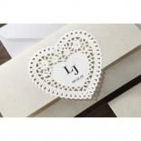 Letters of love anniversary party invite card design