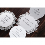 Traditional Romance anniversary party invite card