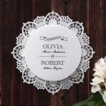 Traditional Romance anniversary party invitation design