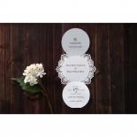 Traditional Romance anniversary party invite design