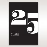 Years Past anniversary card design