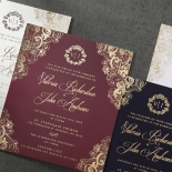 Imperial Glamour anniversary party Invite Card Beautifully Design