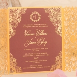 Imperial Glamour anniversary party invite card design