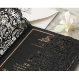 Lux Royal Lace with Foil - Wedding Invitations - PWI116142-F-GK - 178763