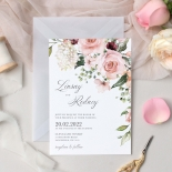 Romantic Flowers - Wedding Invitations - GI-KI300-CP-09 - 178916