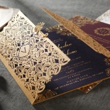 Imperial Glamour bridal shower invite