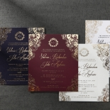 Imperial Glamour bridal shower party invitation