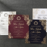 Imperial Glamour bridal shower party invitation design