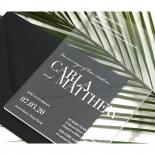 White Ink on Modern Acrylic  - Wedding Invitations - BON-CRLA - 178316