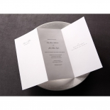 Classic Ivory Damask corporate card