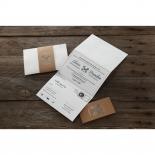 Eternity corporate invite card design
