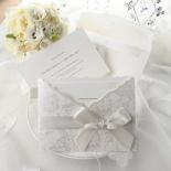 Exquisite Floral Pocket corporate party card design