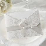 Exquisite Floral Pocket corporate invitation card design