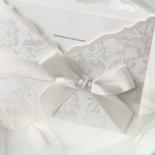 Exquisite Floral Pocket corporate party invite design