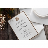 Royal Elegance corporate party invite card design
