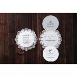 Traditional Romance corporate party invite card design