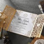Imperial Glamour corporate invite card design