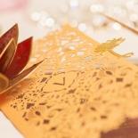 Imperial Glamour corporate invitation card design