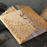 Imperial Glamour corporate party invitation
