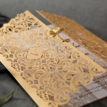 Imperial Glamour corporate party invitation design
