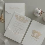 Royal Quilted Half Pocket - Wedding Invitations - WP309GG - 178270