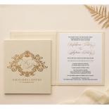 Gold Pearl Timeless Elegance Hardcover  - Wedding Invitations - HC-PG02 - 178494