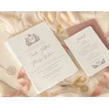 Royal Crest - Wedding Invitations - DWI1190027 - 178994