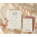 Royal Crest - Wedding Invitations - DWI1190027 - 178992