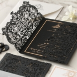 Lux Royal Lace with Foil - Wedding Invitations - PWI116142-F-GK - 178768