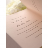Blush Blooms engagement party invite card design