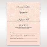 Blush Blooms engagement party invitation design