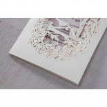 Enchanting Forest 3D Pocket engagement party card