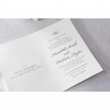 Intricate Vintage Lace engagement invite design