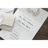 Letters of love engagement invitation