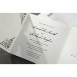 Framed Elegance engagement party card
