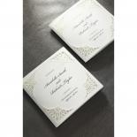 Framed Elegance engagement invitation