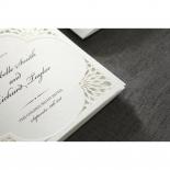 Framed Elegance engagement invitation design