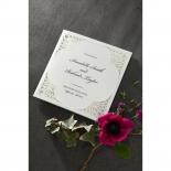 Framed Elegance engagement card